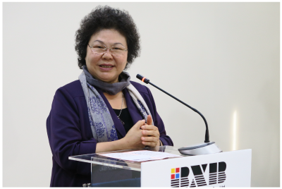 City Mayor Chen Chu expressed that she is grateful to see BXB's progress with the subsidy of SBIR and expecting that we can connect PA system with Kaohsiung City's disaster prevention system to release instant and sound disaster information.
